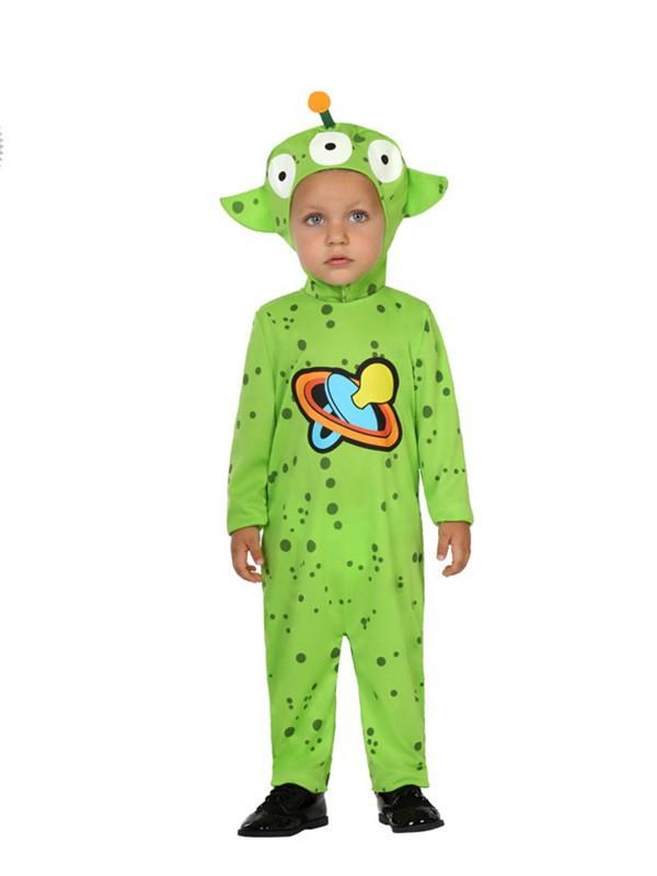 Disfraz de alien para bebe
