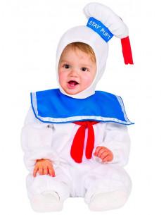 Disfraz Marshmallow de Los Cazafantasmas bebé