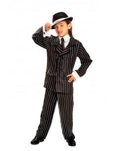 Disfraz gángster mafioso para niño
