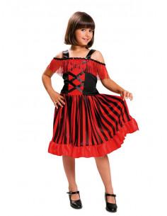 Disfraz Can can bailarina para niña