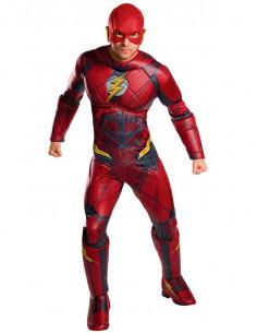 Disfraz de Flash La Liga de la Justicia para adulto