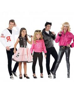 Disfraz de Años 50 Grease en grupo
