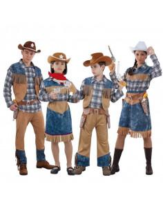 Disfraz de Vaqueros Cowboys para grupos