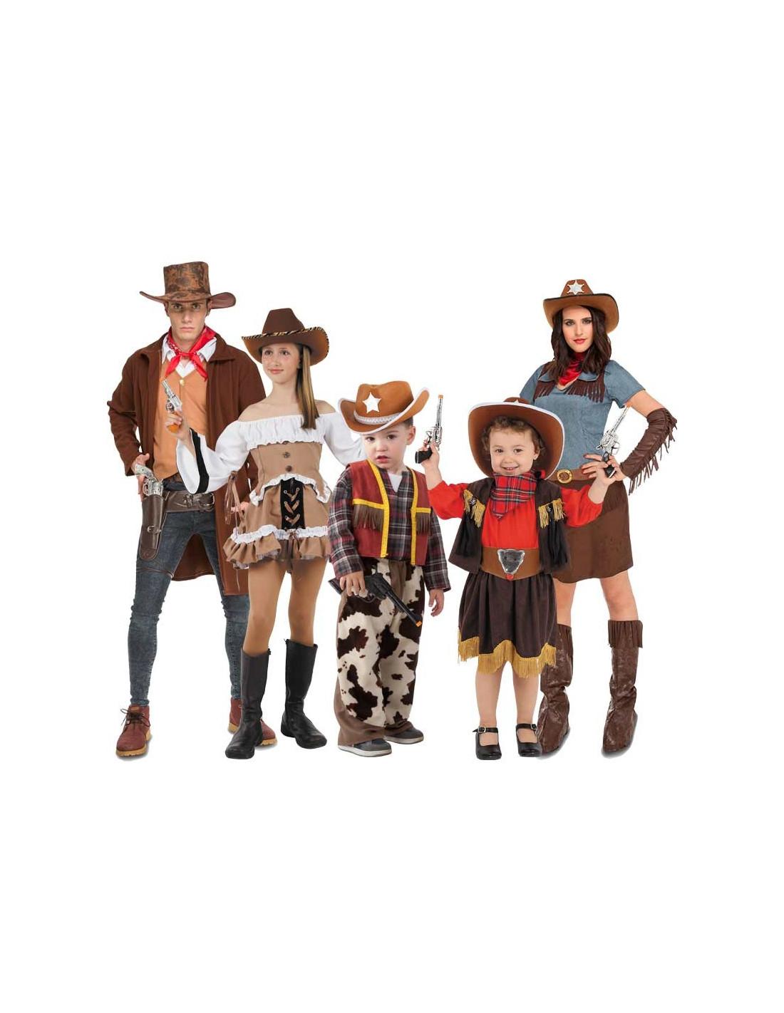 85dcd888e568c Disfraz en Grupo de Vaqueros Cowboys - Comprar en Tienda Bacanal