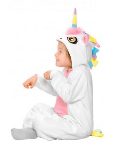 Disfraz de Unicornio blanco infantil