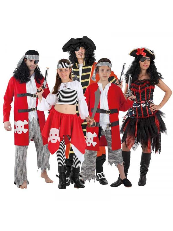 094cac65878 Disfraz en Grupo de Piratas - Comprar en Tienda Bacanal