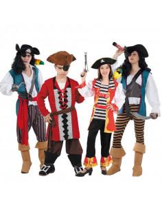 Disfraces de Piratas para Grupos