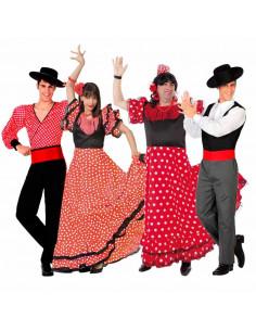 Disfraces de Sevillanas y Flamencos para Grupos
