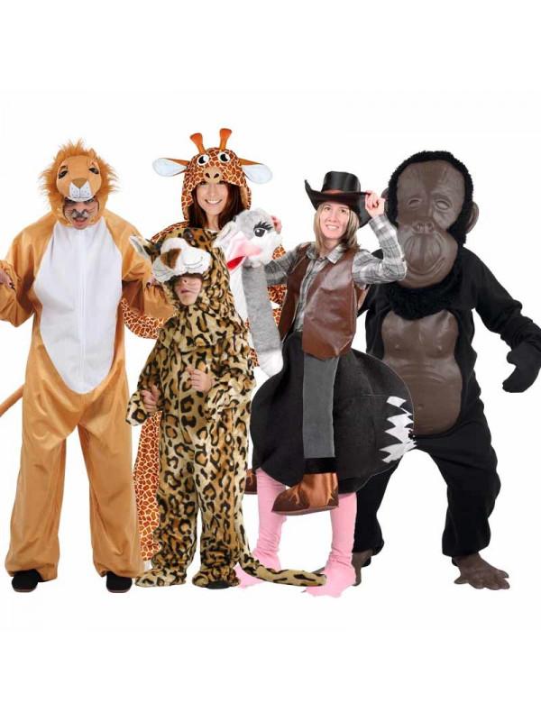 f0eb0baafee Disfraz en Grupo de Animales de la Selva - Comprar en Tienda Bacanal