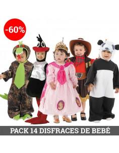 Pack Disfraces de bebé para obras de teatro infantiles