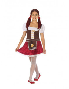 Disfraz de Bávara Oktoberfest para niña  Tallas-5-6 años