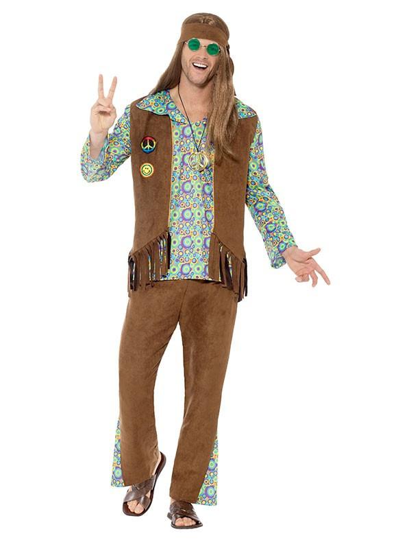 Disfraz hippie años 60 para hombre