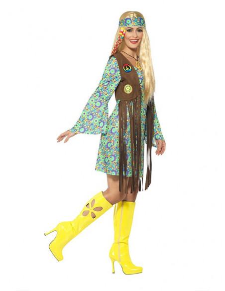 Disfraz hippie años 60 perfil