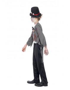 Disfraz novio zombie para niño