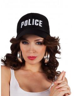 Gorra Policía ajustable