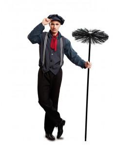 Disfraz de deshollinador para hombre  Modelo-Único Tallas-M-L