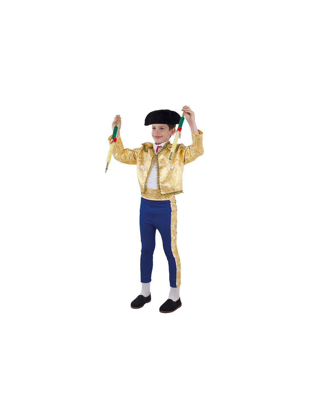 Disfraz de Torero para niño - Traje de luces Infantil  5e3a052e6fb