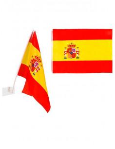 Banderín España para el coche