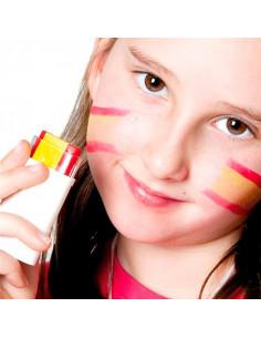 Maquillaje bandera de España