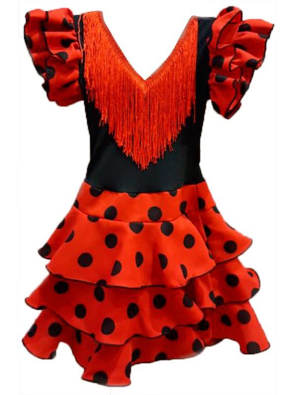 Vestido andaluza para niña