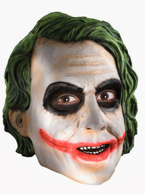 Máscara de Joker ¾ TDK para adulto