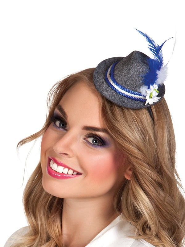 Mini sombrero tirolés
