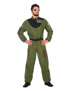 Disfraz de piloto militar para hombre