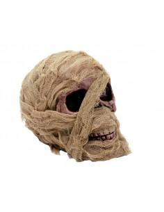 Calavera de momia para decoración