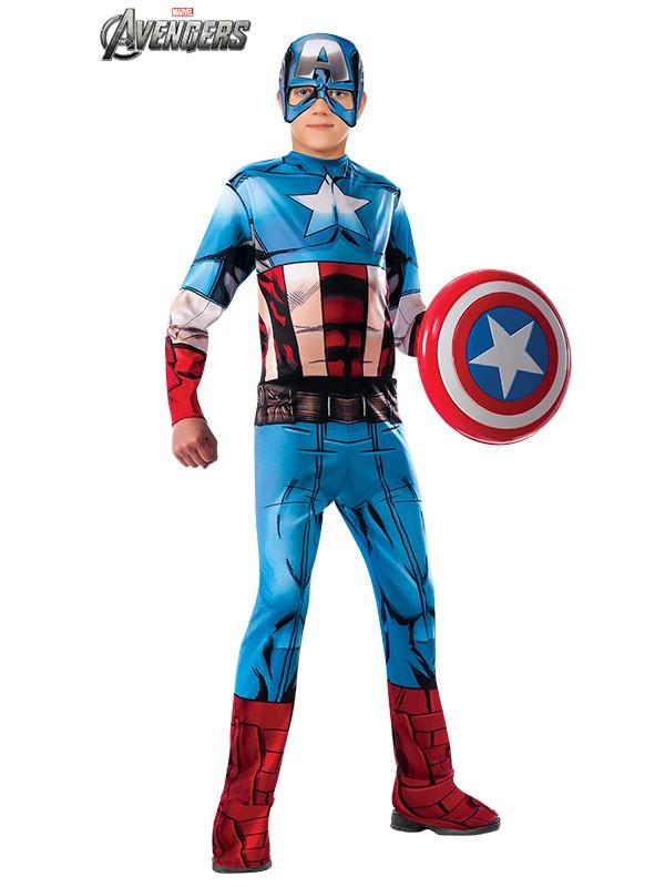 Disfraz de Capitán América classic infantil