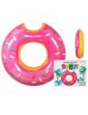 Flotador de Donut Rosa Gigante