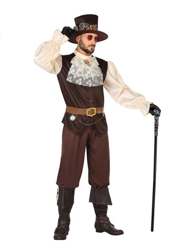 Disfraz de Steampunk hombre