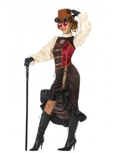 Disfraz de Steampunk mujer