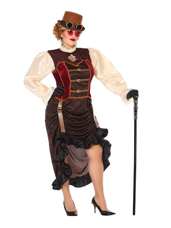 Disfraz De Steampunk Mujer Talla Grande Comprar En Disfraces Bacanal