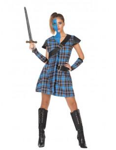Disfraz de escocesa Braveheart