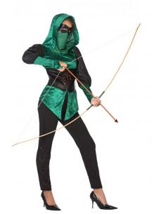Disfraz de arquera para mujer