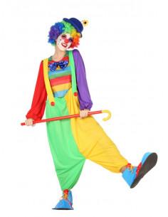Disfraz de payasita arco iris