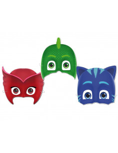 6 Caretas de Pj Mask