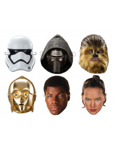 6 caretas de Star Wars