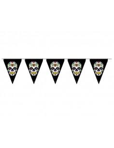 Banderines de Calavera Catrina