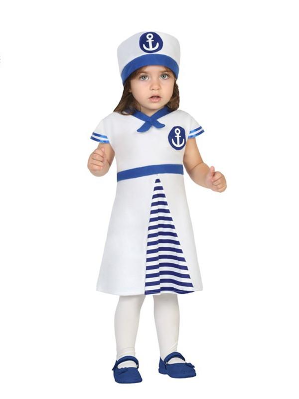 Disfraz de marinera bebé