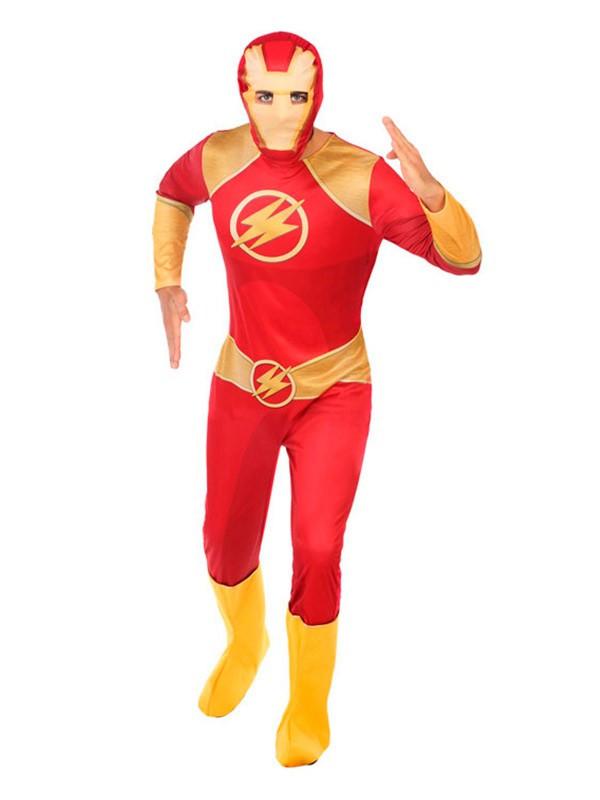 Disfraz de Flash para hombre - Comprar en Tienda Disfraces Bacanal 4c2b97de9eb