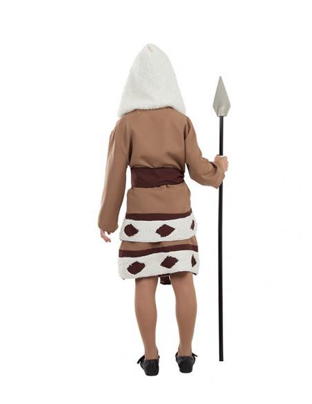 Disfraz de esquimal para niña trasera