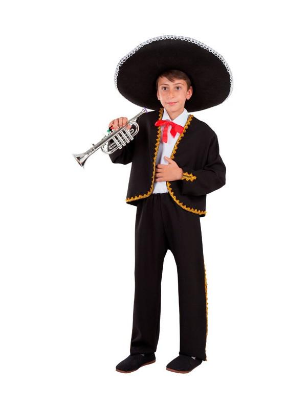 Disfraz de Mariachi Mexicano niño - Comprar en Tienda Disfraces Bacanal 1ee891ee1bf