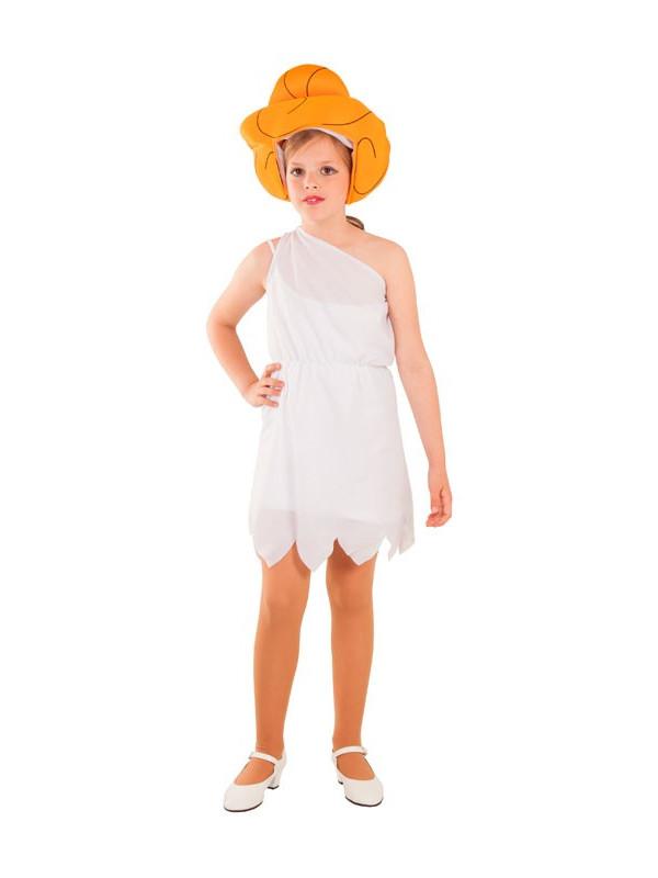 Disfraz de troglodita Wilma infantil