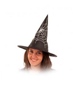 Sombrero de bruja telaraña