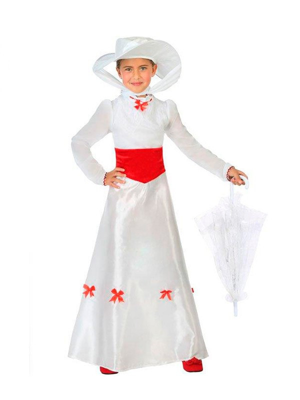 Disfraz De Mary Poppins Infantil Comprar En Disfraces Bacanal