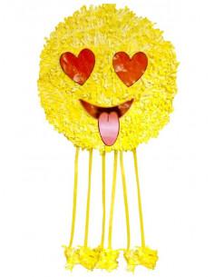 Piñata de Emoji enamorado