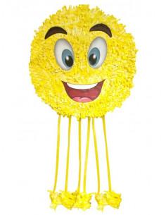 Piñata Emoji sonrisa