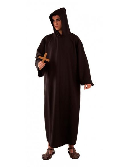 Disfraz fraile adulto negro