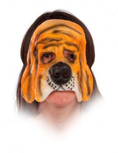 Máscara de perro sabueso